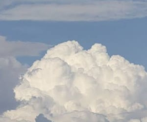 blue, cloud, and clouds image