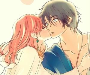 anime, couple, and akatsuki no yona image