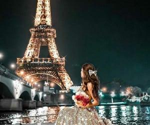 city, girl, and paris image