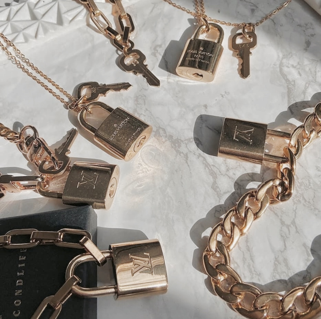 accessories, fashion, and locks image