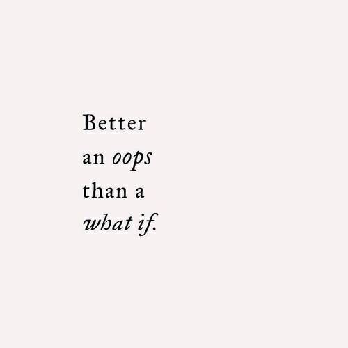 quotes, oops, and what if image