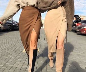 girls, outfit, and moda image
