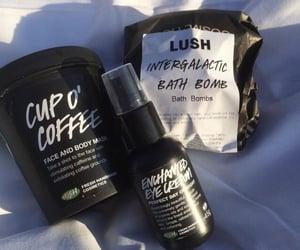 lush, skincare, and carefree image