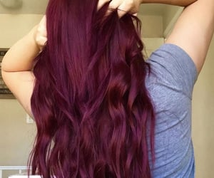 beautiful, hair ideas, and red hair image