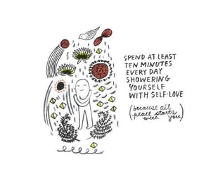 selflove, soul, and soul food image