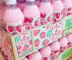 pink, strawberry, and aesthetic image