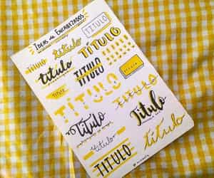 journaling, lettering, and tittles image