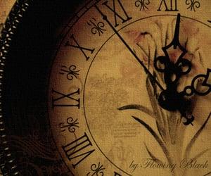 aesthetic, aesthetics, and clock image