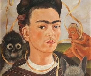 frida kahlo, animal, and Frida image