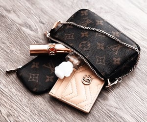 aesthetic, bag, and chain image