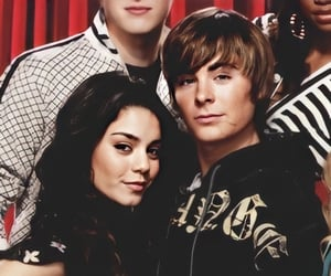 cute couples, baby v, and east high image