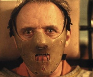 serial killer, hannibal lecter, and silence of the lambs image