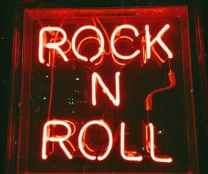 light, neon, and rock n roll image