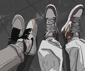 anime and jordan image