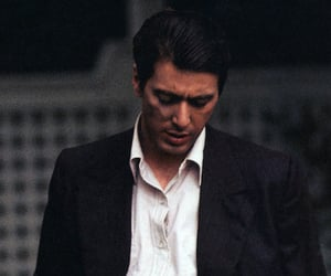 al pacino, actor, and godfather image