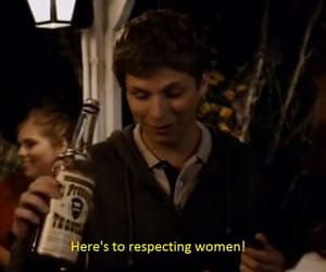 michael cera, respect, and feminism image