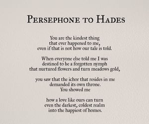 persephone, hades, and love image