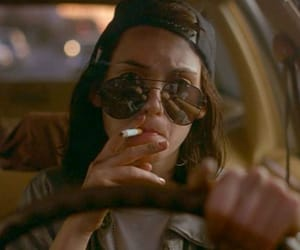 winona ryder, car, and cigarrette image