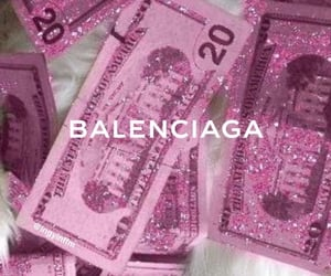 Balenciaga, pink, and aesthetic image
