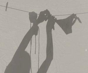 bikini, shadow, and light image