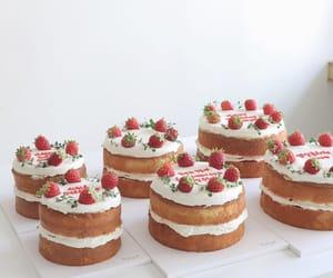 minimalist, cake, and food image