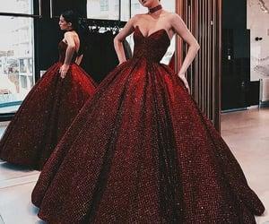 cherry, dress, and girl image