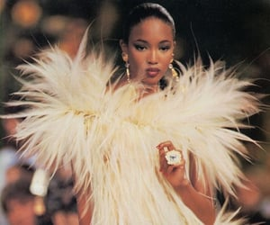 fashion, Naomi Campbell, and model image