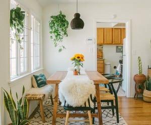 bohemian, interior, and boho living room image