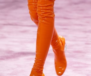 orange, aesthetic, and boots image