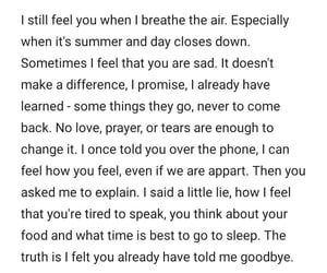 quotes, goodbye, and romance image