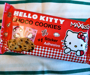 Cookies and hello kitty image