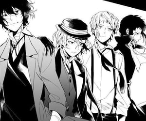bungou stray dogs, anime, and boy image