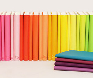 colorful, book, and colors image