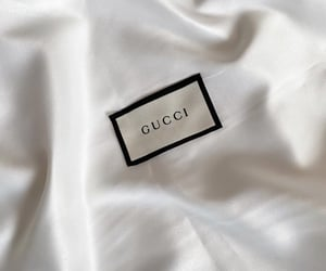 aesthetic, gucci, and satin image