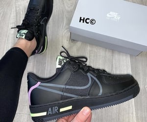 air force, air force 1, and black image