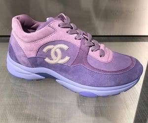 chanel, lilac, and pastel image