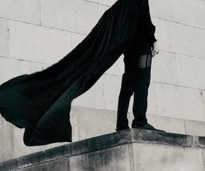 black and dark image
