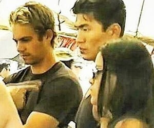 paul walker, fast and furious, and bts image