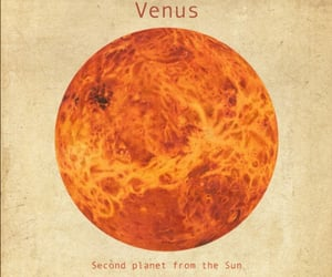 planet, Venus, and space image