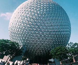 disney, ride, and epcot image