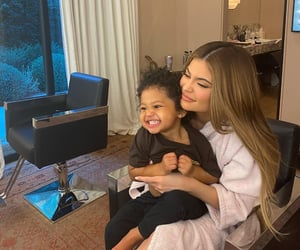 kylie jenner, stormi, and jenner image