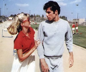 grease, vintage, and movie image