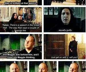 harry potter and alan rickman image