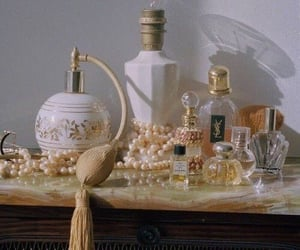 aesthetic, perfume, and vintage image