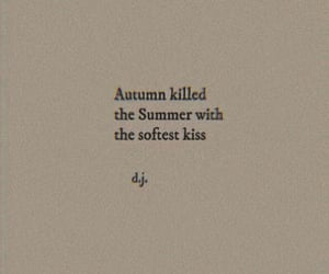 autumn, quotes, and aesthetic image