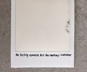 feelings, polaroid, and quotes image