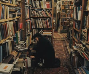 book, books, and girl image