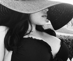 bikini, girl, and mysterious image