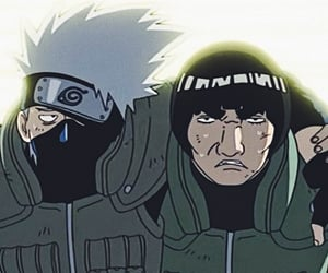 anime, shippuden, and kakashi image