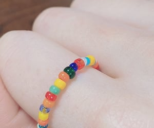 colorful, ring, and cute image